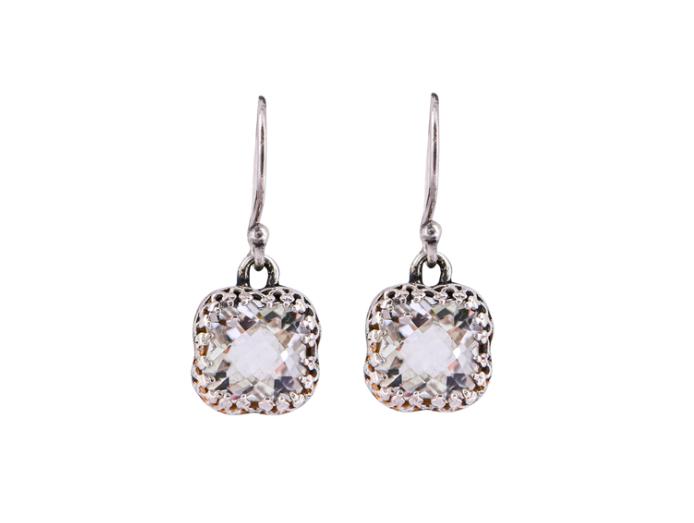 Crown Jewels Flower Earrings