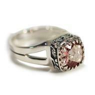 Crown Jewels Morganite Topaz Ring