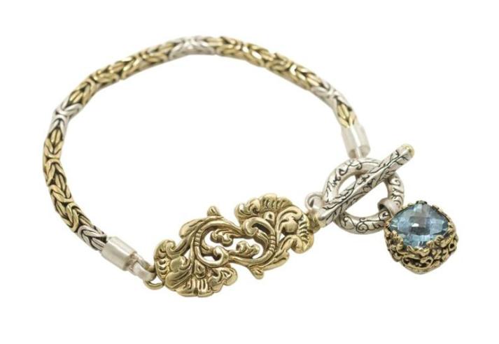 Golden Flower Bracelet