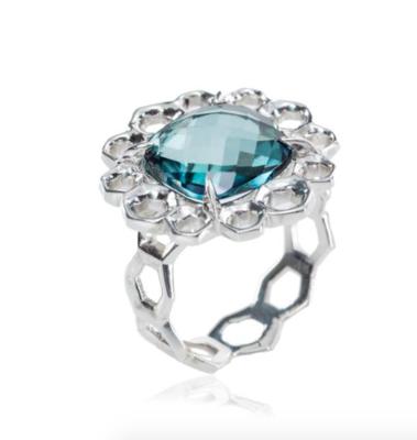 London Blue Ring