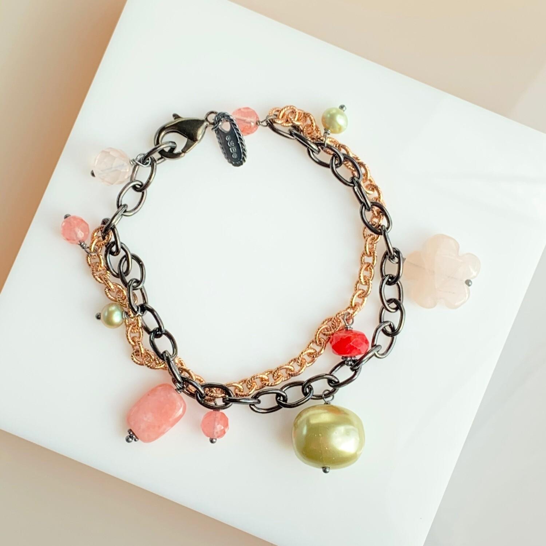 Gracie Double Chain Bracelet