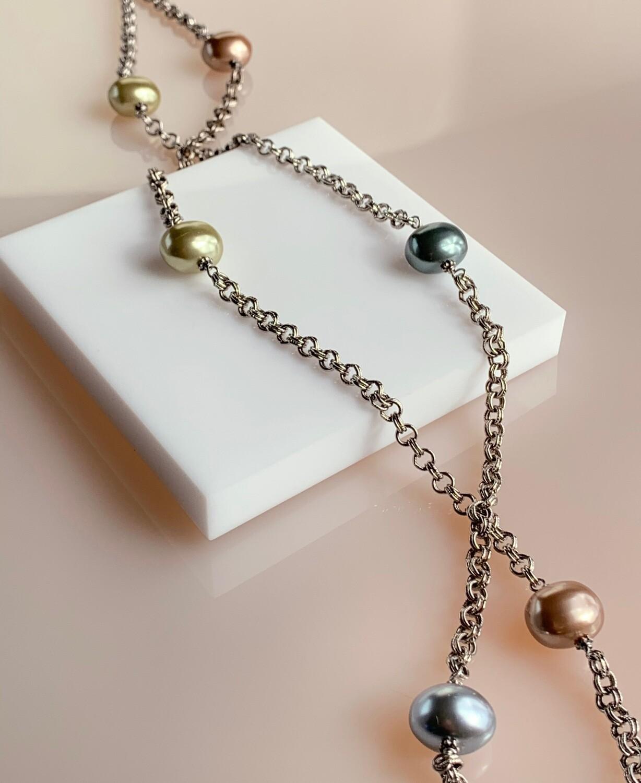 Baroque Long Necklace