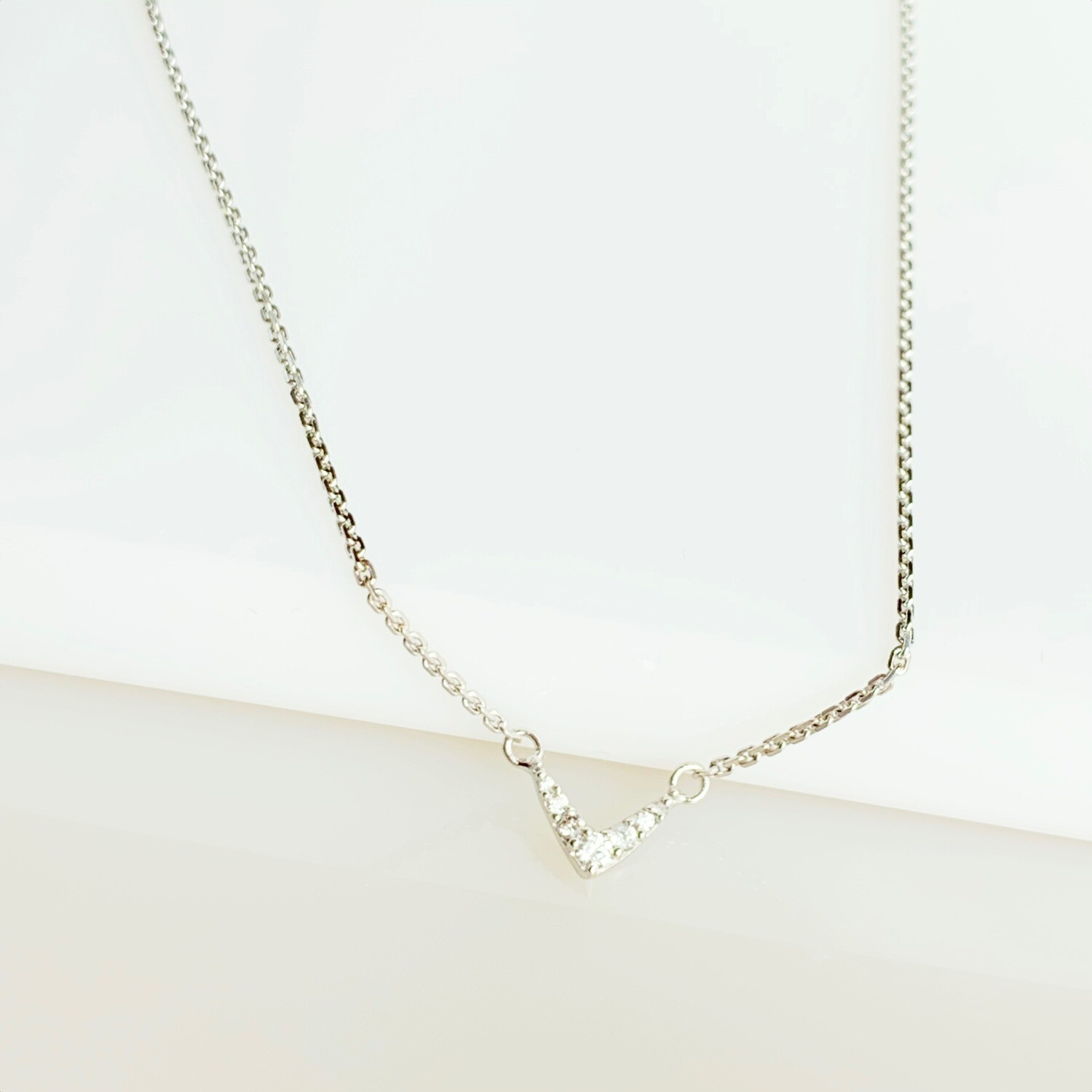 Heartbeat Vee Necklace