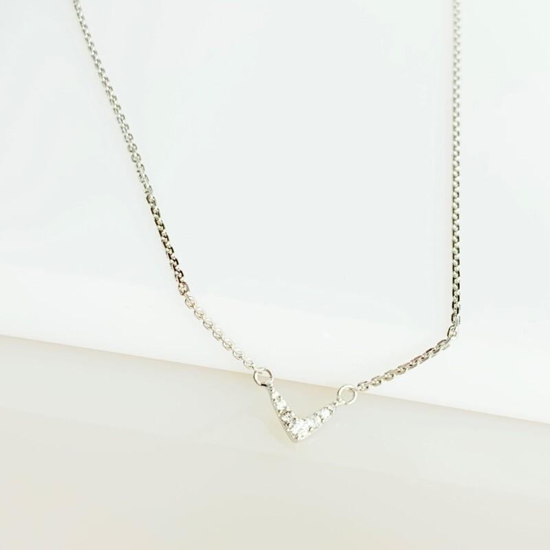 Heartbeat Vee Necklace