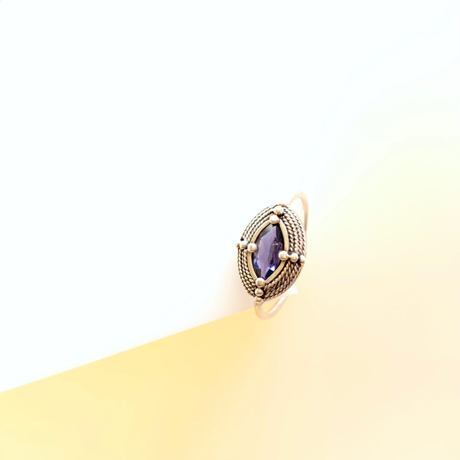 Isabella Purple Iolite Ring