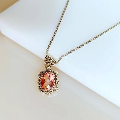 Isabella Morganite Necklace