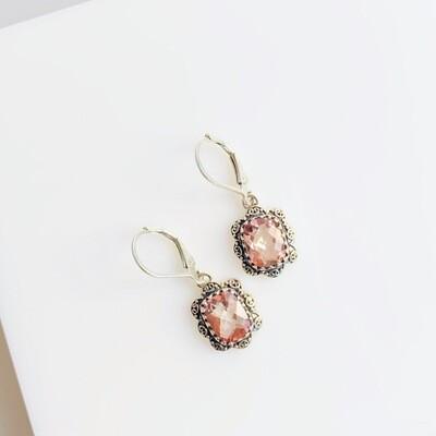 Isabella Morganite Earrings