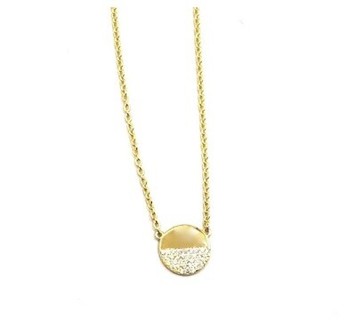 Ice Half Moon Necklace