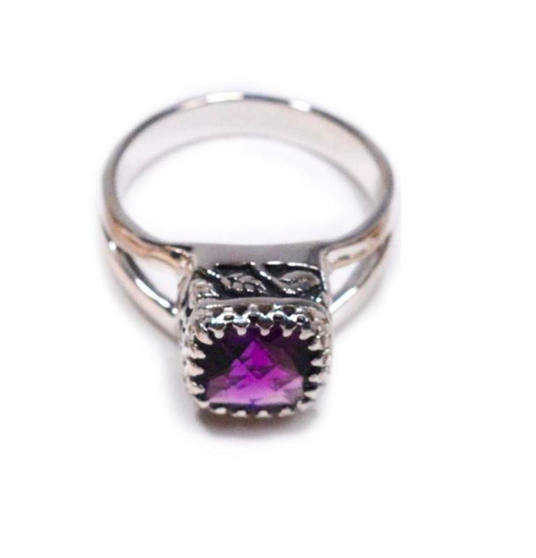 Crown Jewels Amethyst Ring