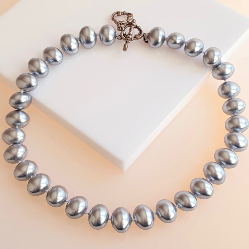 Baroque Shell Pearl Necklace