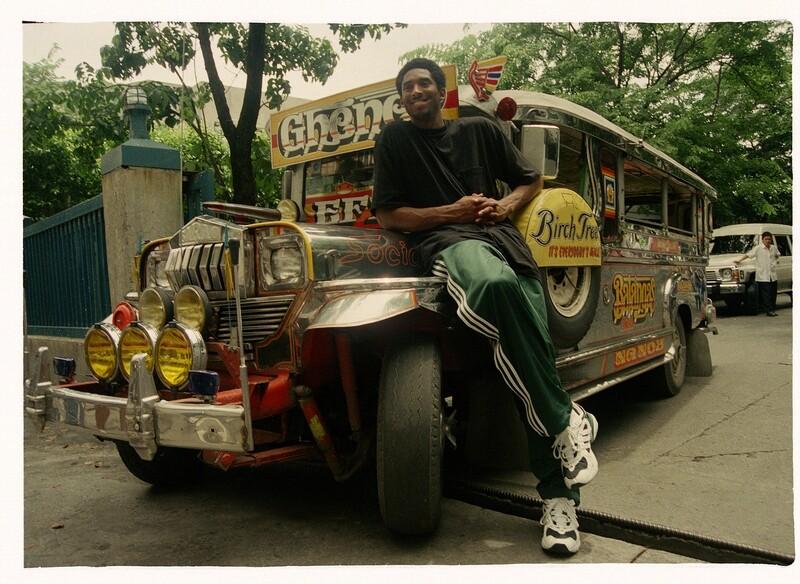 Kobe Bryant in Manilla 1998