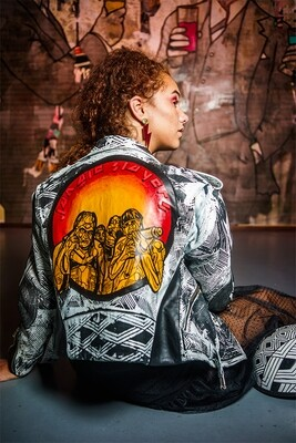 Leather Jacket- Designer Fernanda Fernandes