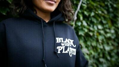 Black With Plants — Hoodie