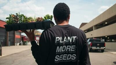 Plant More Seeds — Long Sleeve Tee