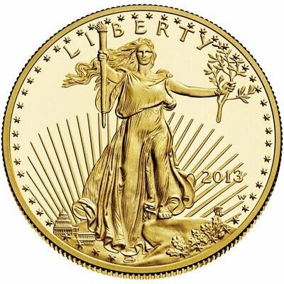 AMERICAN EAGLE 1 OZ GOLD COIN