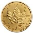 1oz GOLD MAPLE LEAF COIN