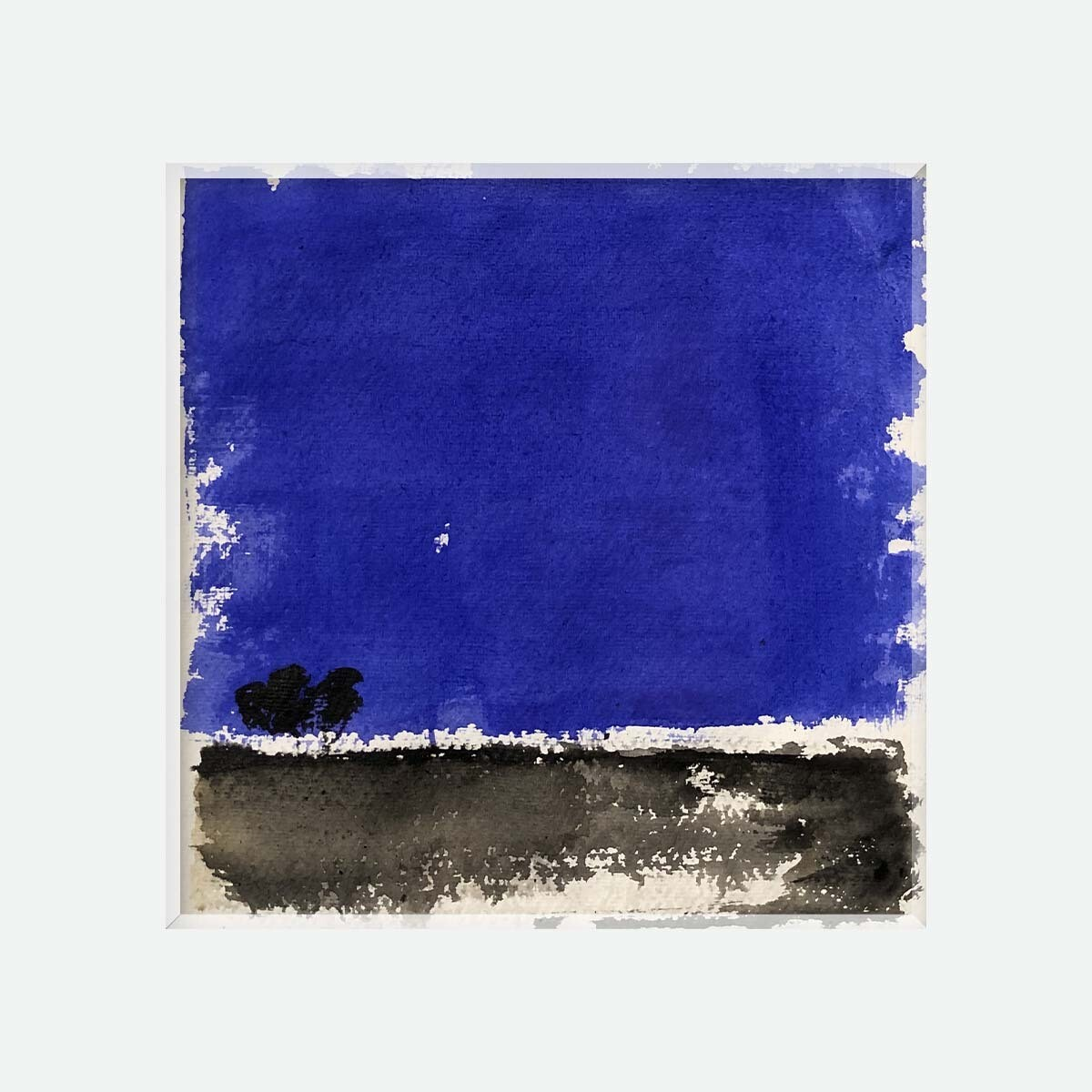 Abstraction bleue