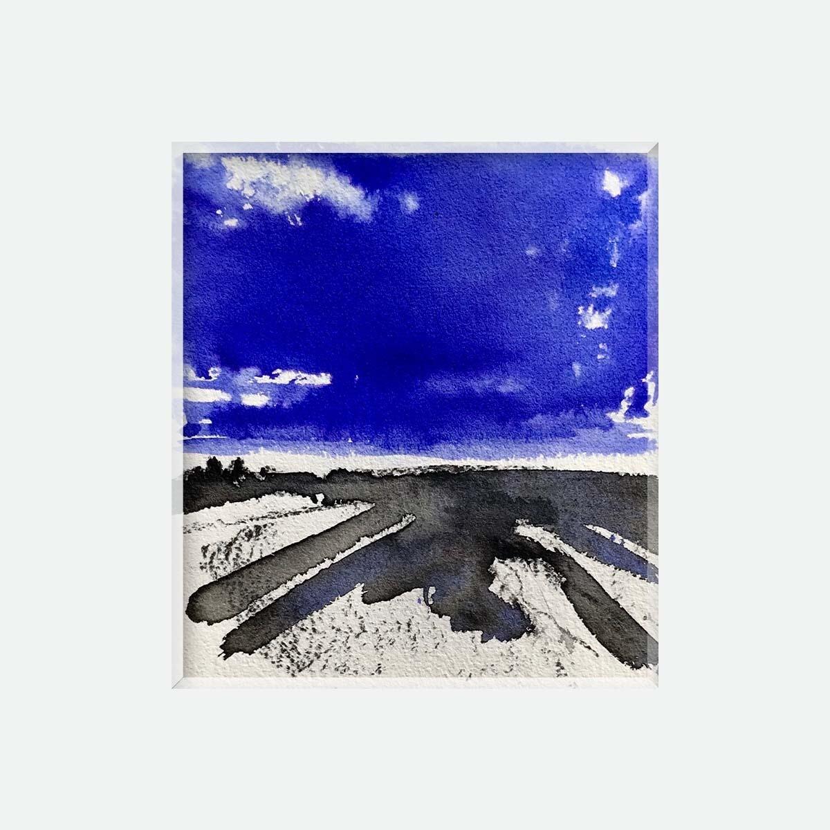 Un monde bleu