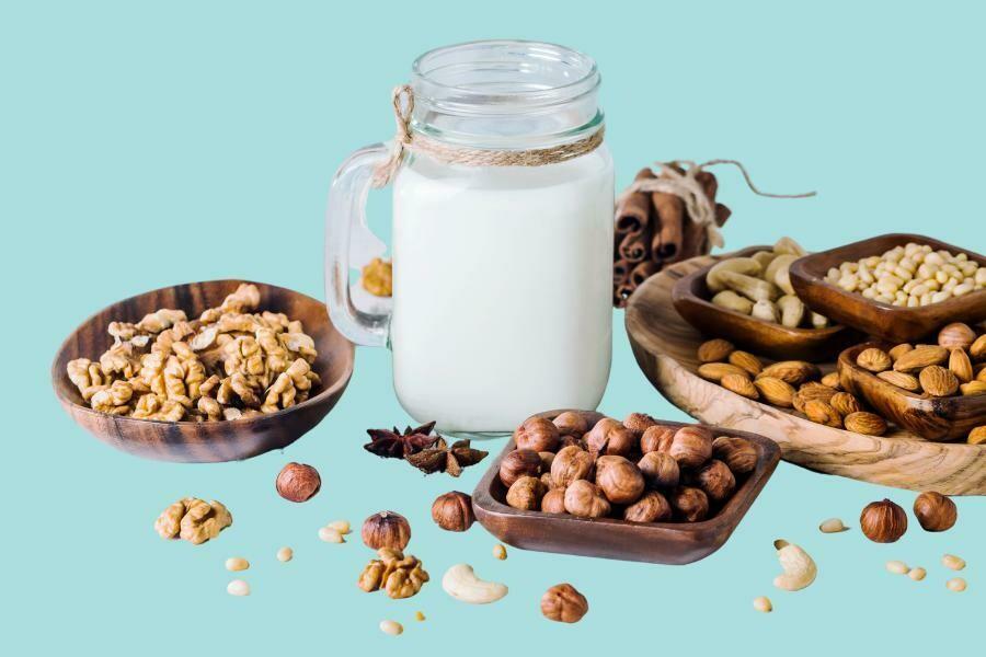 Bebidas vegetales y lácteas