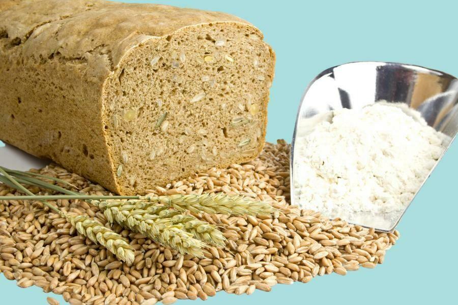 Pan, harina y tostadas
