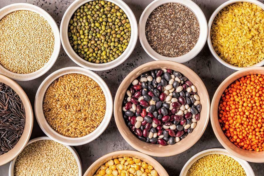 Cereales, semillas y tortitas