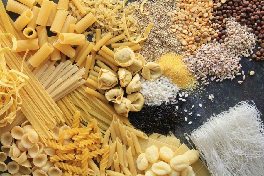 Pasta, arroz y legumbres