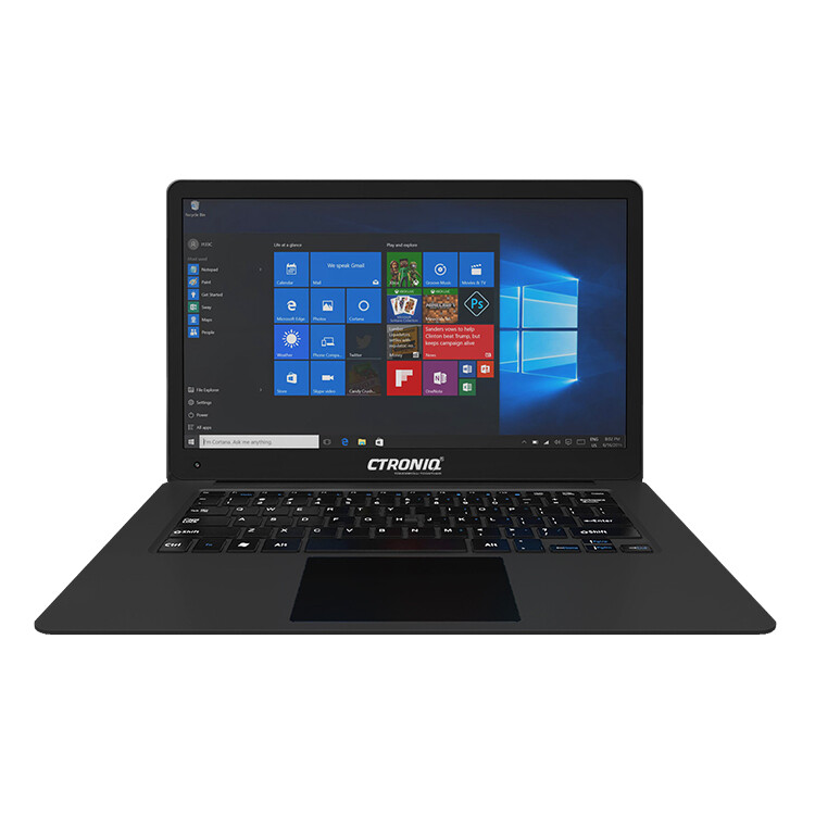 Ctroniq N14B Notebook PC  - Black