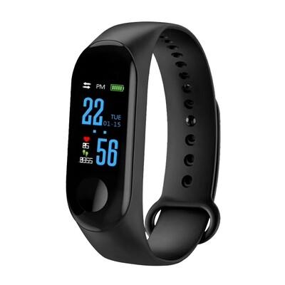 Ctroniq Bond X Smart Band Fitness Tracker - Black