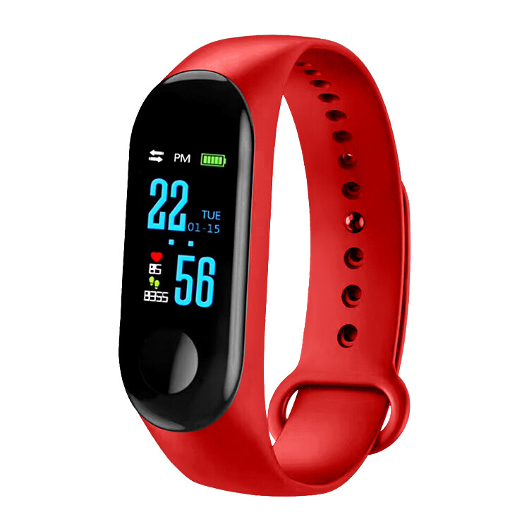 Ctroniq Bond X Smart Band Fitness Tracker - Red