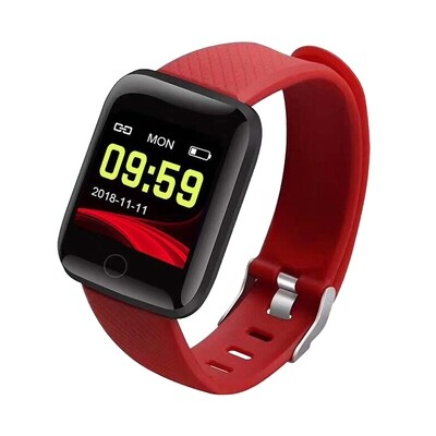 CTRONIQ Bond XII - Smart Activity Tracker - Red