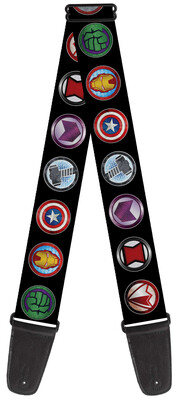 Avenger Logos Guitar Strap