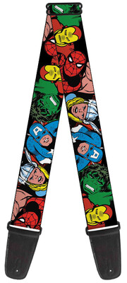 Buckle-Down Marvel Characters Guitar Strap BD-WAV002