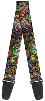 Buckle-Down Marvel Comics Guitar Strap BD-WAV035
