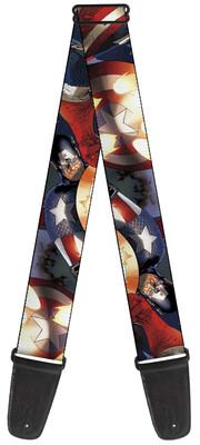 Captain America Guitar Strap