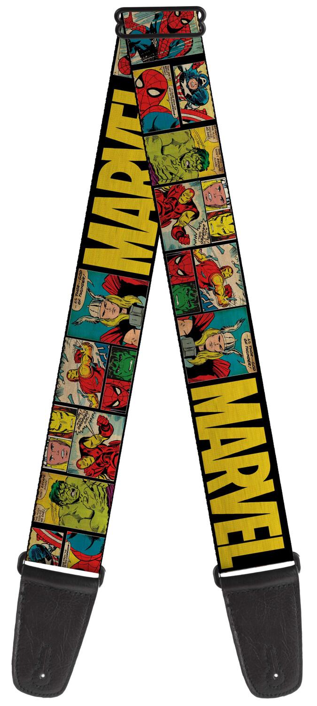Buckle-Down Marvel Comic Book Guitar Strap BD-WAV042