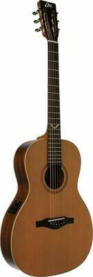 Eko EVO Parlor EQ Natural Guitar - Solid Cedar Top