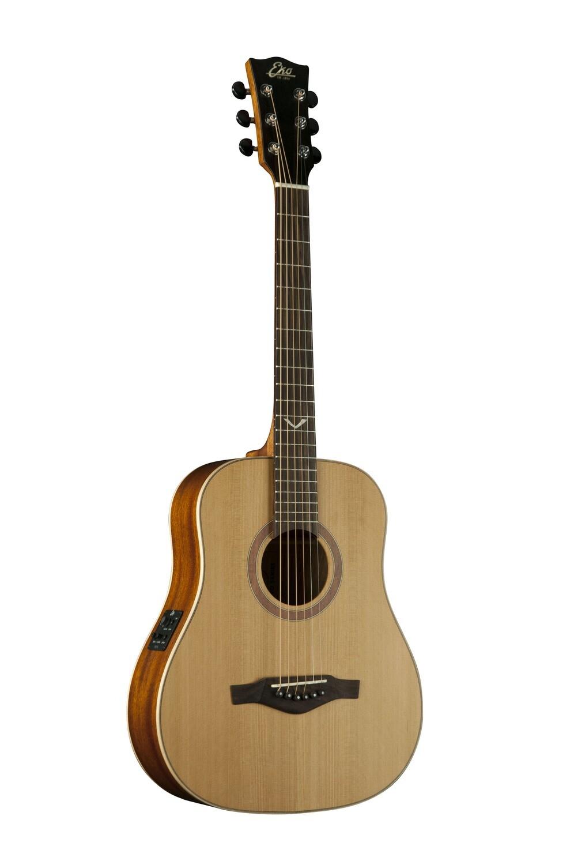 Eko EVO Mini EQ Natural Guitar - Solid Cedar Top