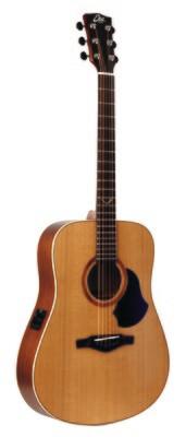 Eko EVO D EQ Natural Guitar - Solid Cedar Top
