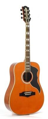 Eko Ranger 6 VR EQ Natural Stain Guitar - Spruce Top