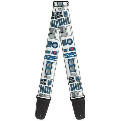 Buckle-Down R2D2 Guitar Strap BD-WSW105