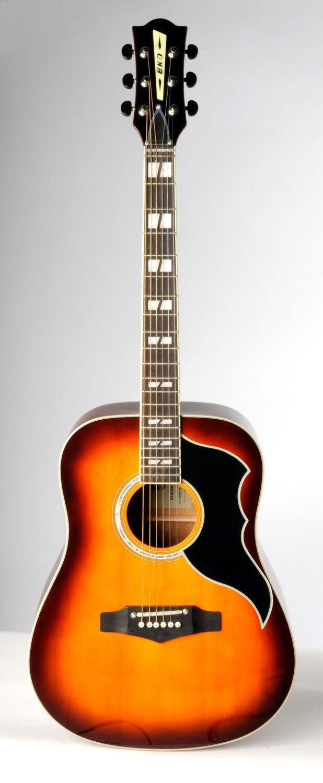 Eko Ranger 6 VR Honeyburst EQ Guitar - Spruce Top