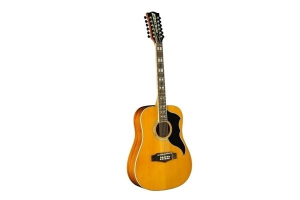 Eko Ranger 12 VR EQ Natural Stain Guitar - Spruce Top