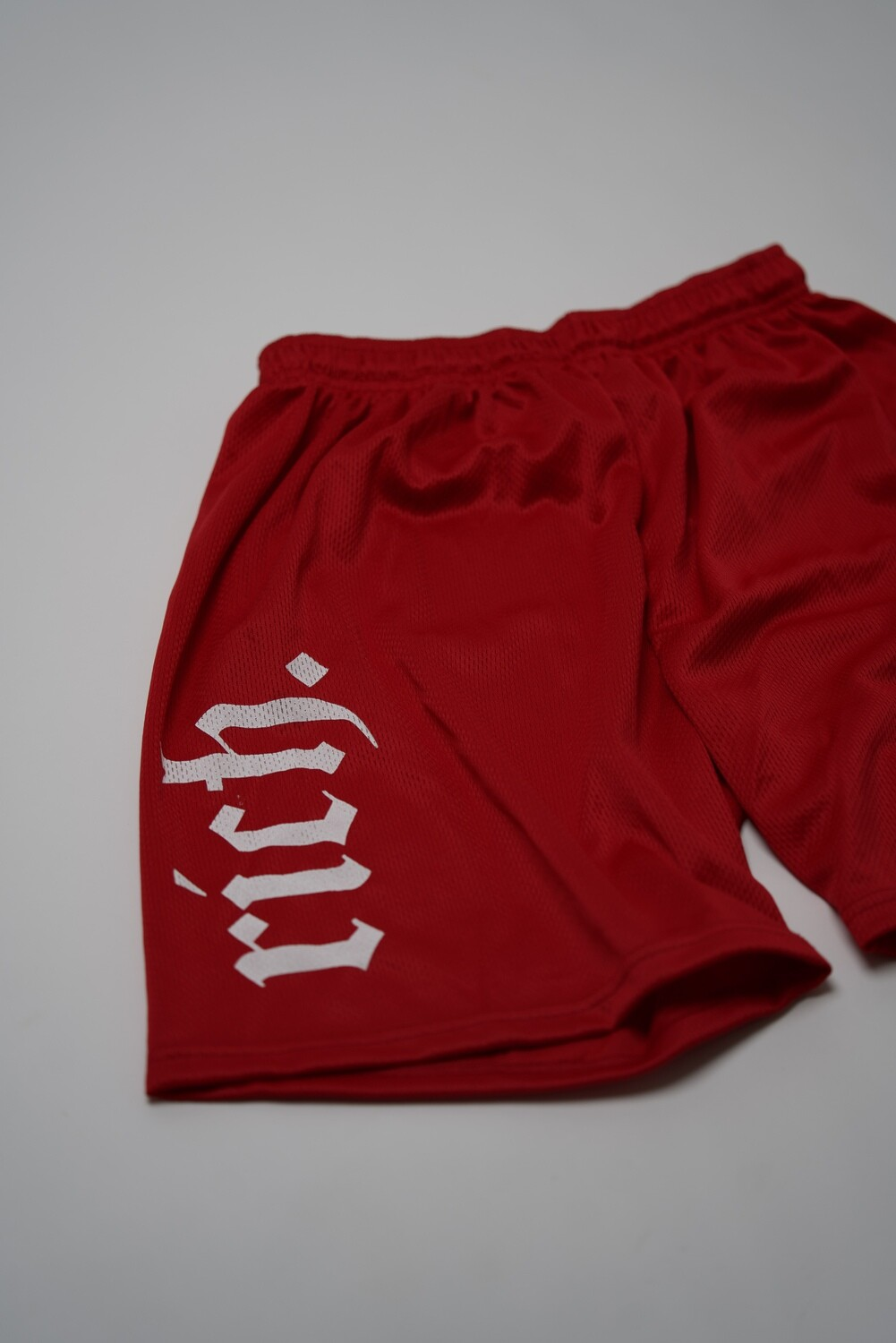 RICH Athletic Shorts (Red)