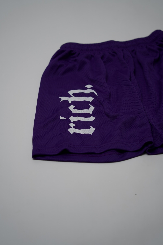 RICH Athletic Shorts (Purple)