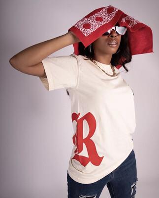 RPS Big Logo Tee (Sand/Red)