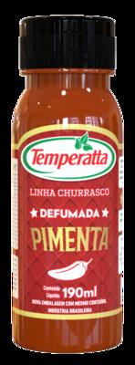Molho de pimenta defumada Temperatta 190ml