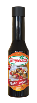Molho inglês Temperatta 150ml