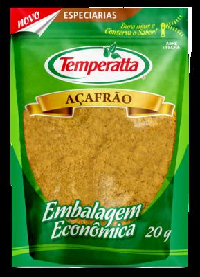 Açafrão Temperatta 20g Standpouch