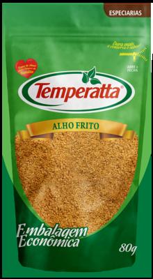 Alho frito Temperatta 80g Standpouch
