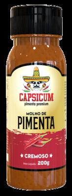 Molho de pimenta cremoso Capsicum 220g